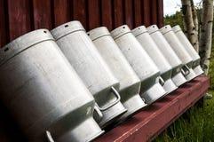 De melk verbleekt Stock Foto's