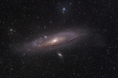 De Melkweg van Andromeda Royalty-vrije Stock Foto's