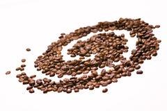 De melkweg van de koffie royalty-vrije stock afbeeldingen
