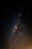 De Melkweg van de zomer Royalty-vrije Stock Afbeeldingen