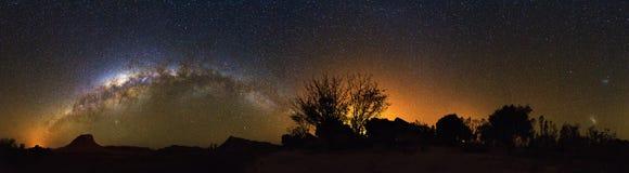 360 de Melkweg van Madagascar Stock Afbeeldingen