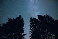 De Melkweg van Minnesota royalty-vrije stock foto