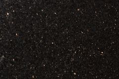 De Melkweg Zwart Extra, zwart graniet van de natuursteenster, glanzende deeltjes royalty-vrije stock fotografie