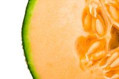 De meloen van de kantaloep Stock Afbeeldingen