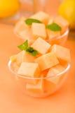De Meloen van de kantaloep royalty-vrije stock foto