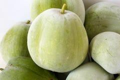 De meloen van de stapelwinter Stock Foto's