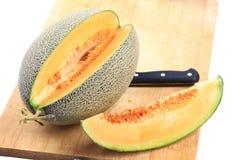 De meloen van Hami Stock Afbeeldingen