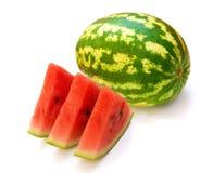 De meloen van het water stock afbeelding