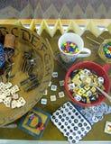De Memorabilia van het alfabet Royalty-vrije Stock Afbeelding