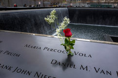 9/11 de memorial Fotos de Stock Royalty Free
