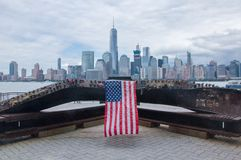 9/11 de memorial fotografia de stock