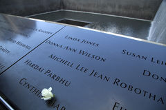 9/11 de memorial em New York Fotos de Stock