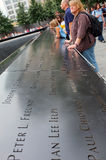 9/11 de memorial, New York City Imagem de Stock