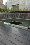 9/11 de memorial, New York City Imagem de Stock Royalty Free
