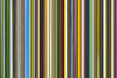 De mengeling van de achtergrondtekeningsstreepjescode van kleuren van groene tonen met heldere strepen van kleur Royalty-vrije Stock Foto