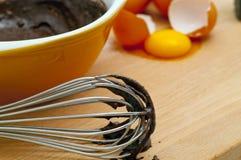 De Mengeling van de Cake van de chocolade Stock Foto