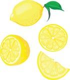 De mengeling van de citroen Stock Afbeeldingen