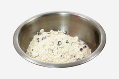 De Mengeling van de Muffin van de Chocoladeschilfer Royalty-vrije Stock Fotografie