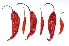 De Mengeling van de Peper van de Spaanse peper Royalty-vrije Stock Afbeeldingen