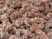 De mengeling van de tamarinde met suiker Royalty-vrije Stock Afbeeldingen