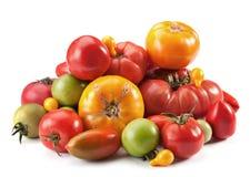 De mengeling van de tomaat Stock Foto's