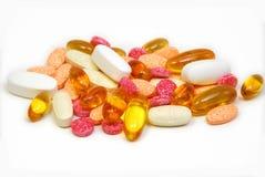 De Mengeling van de vitamine Stock Afbeeldingen