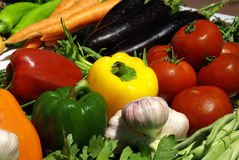 De mengeling van groenten Royalty-vrije Stock Foto's