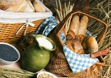 De mengeling van het brood Royalty-vrije Stock Foto