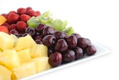 De mengeling van het fruit en van de bes stock afbeeldingen