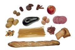 De mengeling van het voedsel Royalty-vrije Stock Foto's