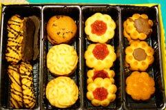 De mengeling van koekjes Stock Afbeeldingen