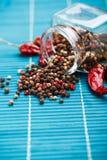 De mengeling van peperbollen stock afbeeldingen