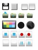 De Mengeling van pictogrammen Stock Fotografie