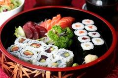 De mengeling van sushi Stock Afbeelding