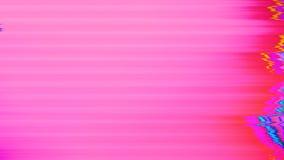 De mengen-gekleurde geometrische nostalgische flikkerende achtergrond van foutengegevens stock footage