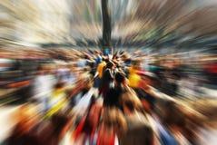 De menigte Royalty-vrije Stock Foto