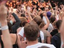 De menigte van de partij Royalty-vrije Stock Foto's