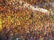 De menigte van het overleg Stock Afbeeldingen
