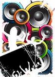 De Menigte van Speakerbox stock illustratie
