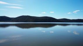 De Mening @ Mooney Mooney, Australië van de Hawkesburyrivier Stock Afbeeldingen