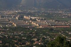 De Mening _ Palermo van het kwart ZEN Royalty-vrije Stock Afbeeldingen