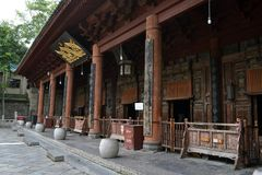 De mening rond Xi ` een Grote die Moskee, als één van mos wordt beschouwd royalty-vrije stock afbeeldingen