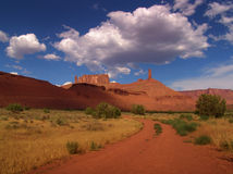 De mening UTAH van het landschap - de V.S. Royalty-vrije Stock Foto