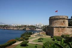 De mening van Antalya royalty-vrije stock afbeeldingen