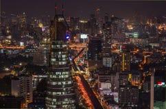 De mening van Bangkok Stock Foto's