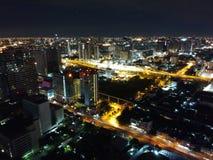De mening van Bankkok Royalty-vrije Stock Foto's