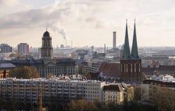 De mening van Berlijn Royalty-vrije Stock Foto's