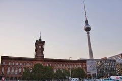 De mening van Berlijn Stock Afbeeldingen