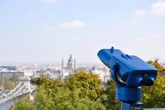De mening van Boedapest Royalty-vrije Stock Foto