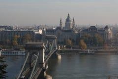 De mening van Boedapest, jaar 2008 Royalty-vrije Stock Afbeelding